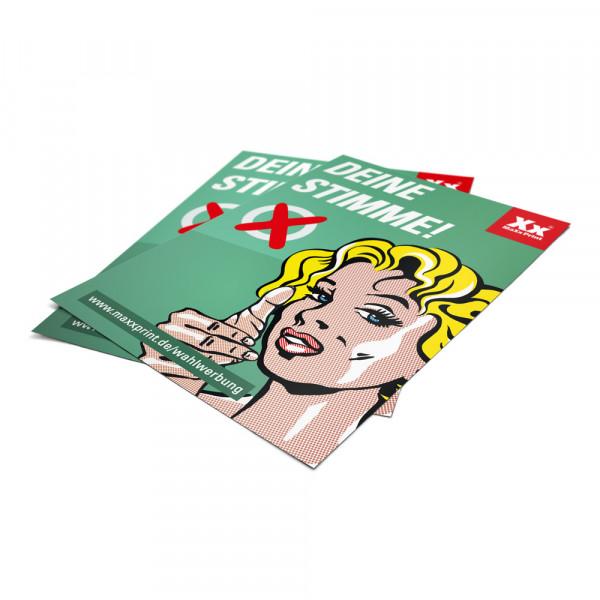 Überzeugende Flugblätter für Ihren Wahlkampf!