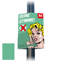 Wahlplakate / Hohlkammerplakate