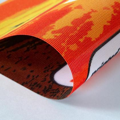 Fahnenstoff Material für den Fahnendruck